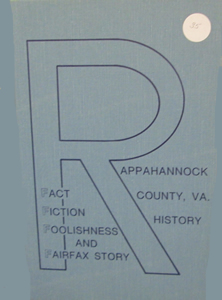 Rappahannock Facts & Foolishness