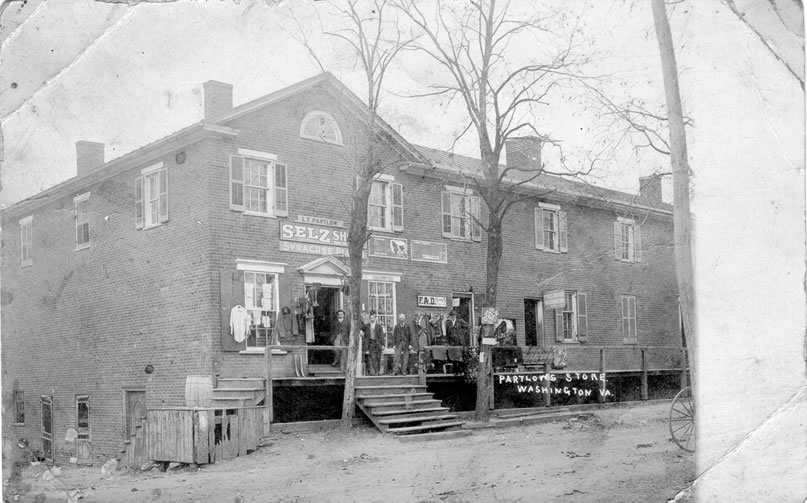 Partlowe Store in the 1800s